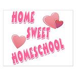 Home Sweet Homeschool Small Poster