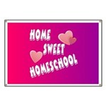 Home Sweet Homeschool Banner