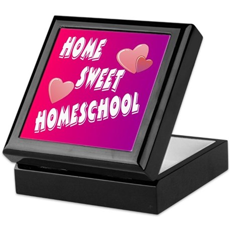 Home Sweet Homeschool Keepsake Box