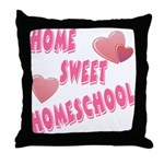 Home Sweet Homeschool Throw Pillow