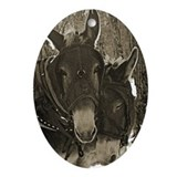 Mules Oval Ornaments