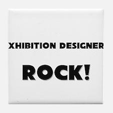 Exhibition Designers ROCK Tile Coaster
