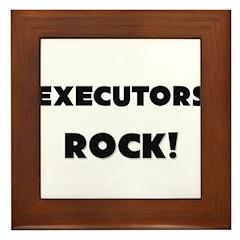 Executors ROCK Framed Tile