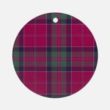 Tartan-MacGillivray Round Ornament
