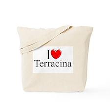 """I Love (Heart) Terracina"" Tote Bag"