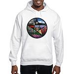 Pentacle Collage Hooded Sweatshirt