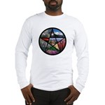 Pentacle Collage Long Sleeve T-Shirt