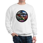 Pentacle Collage Sweatshirt