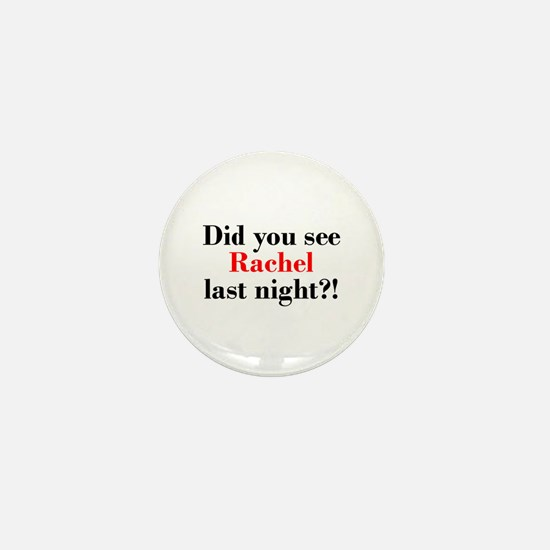 Rachel Fan Mini Button