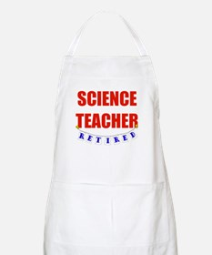 Retired Science Teacher BBQ Apron
