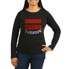 Retired Science Teacher Women's Long Sleeve Dark T