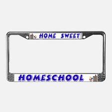 Home Sweet Homeschool License Plate Frame