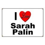 I Love Sarah Palin Banner