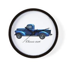 1946 Vintage Pickup Truck Wall Clock