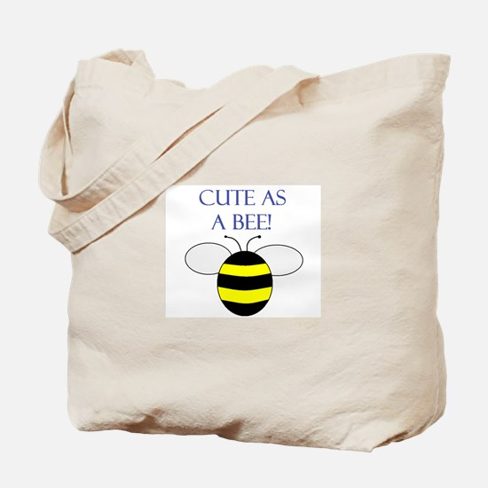 CUTE AS A BEE Tote Bag