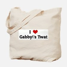 I Love Gabby's Twat Tote Bag