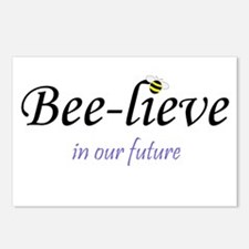 BEE-LIEVE IN OUR FUTURE Postcards (Package of 8)