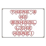 No School Like Home Banner