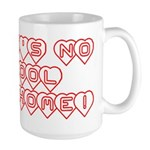 No School Like Home Large Mug