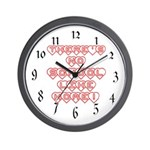 No School Like Home Wall Clock