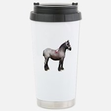 """Belgian 1"" Stainless Steel Travel Mug"