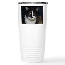 Tuxedo Cat Travel Mug