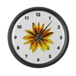 Yellow Daisy Large Wall Clock