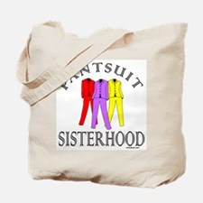 PANTSUIT SISTERHOOD Tote Bag