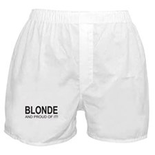 The Proud Blonde Boxer Shorts