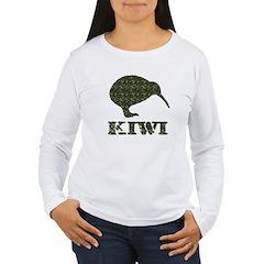 Camouflage Kiwi T-Shirt