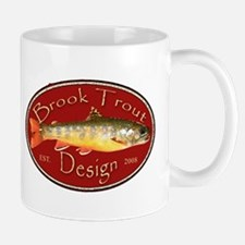 Brook Trout Logo Mug