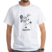 Stick Figure Badminton Shirt