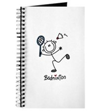Stick Figure Badminton Journal