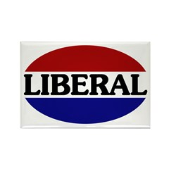 Liberal Rectangle Magnet (100 pack)