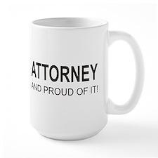 The Proud Attorney Ceramic Mugs