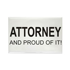 The Proud Attorney Rectangle Magnet