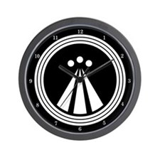Druid Symbol Wall Clock
