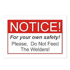 Notice / Welders Postcards (Package of 8)