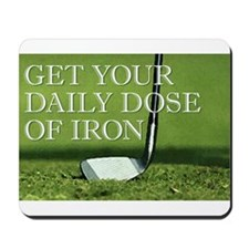 GOLF - Iron Mousepad