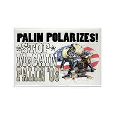 Palin Polarizes Rectangle Magnet