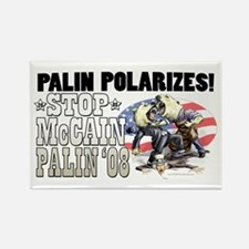 Palin Polarizes Rectangle Magnet