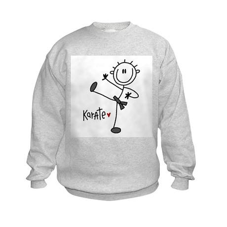 Stick Figure Karate Kids Sweatshirt