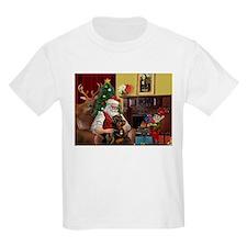 Santa's Rottweiler T-Shirt