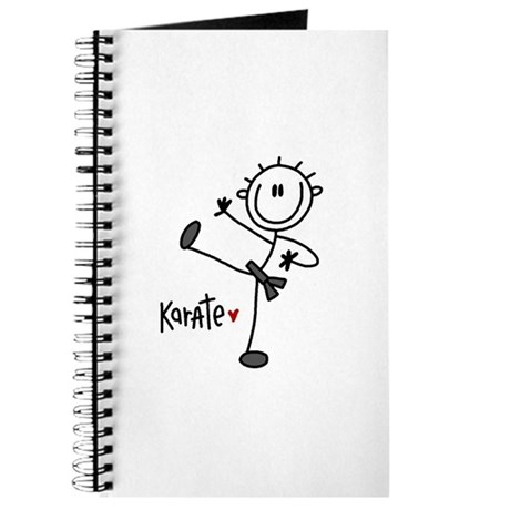 Stick Figure Karate Journal
