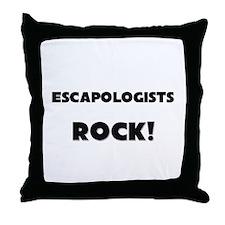 Escapologists ROCK Throw Pillow