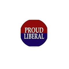 Proud Liberal Mini Button