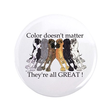 """N6 Color Doesn't Matter 3.5"""" Button (100 pack)"""