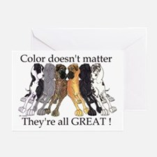 N6 Color Doesn't Matter Greeting Cards (Pk of 20)