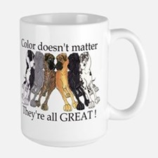N6 Color Doesn't Matter Large Mug