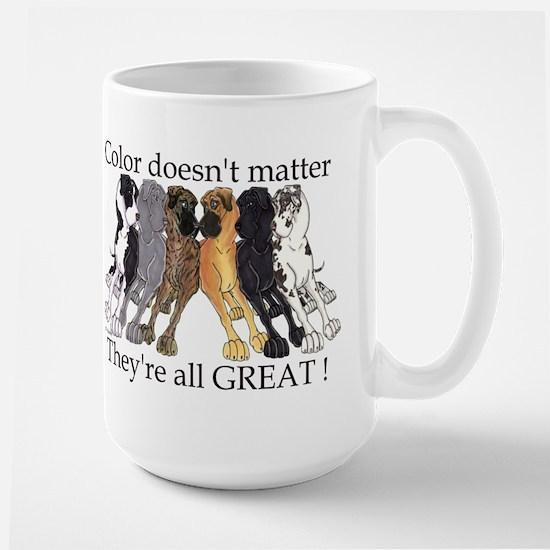 N6 Color Doesn't Matter Large Mug